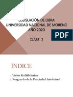 Legal UNM clase 2