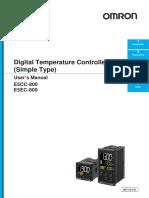 Manual E5EC-800 Full