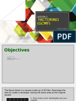 Intro to Factoring and GCMF