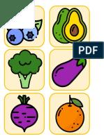 Loteria frutas y verduras