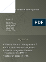 Integrated Material Management