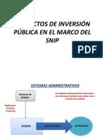 PROYECTOS EN EL MARCO DEL SNIP.pptx