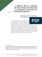 Aportes y debates sobre la reedición del libro de Oscar Terán Nuestros años sesentas.pdf