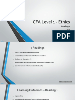 CFA Level 1 Ethics & Professional Standards 2020 Curriculum Changes