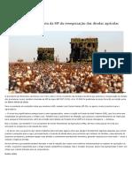 Sancionado com vetos texto da MP da renegociação das dívidas agrícolas — Senado Notícias