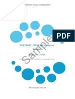 CHCDIV001 Assessor Guide Dip Sample