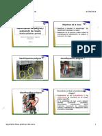 Identificación de peligros y evaluación de riesgos IPERC