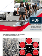 PTV Vision Traffic Suite Innovation_2018