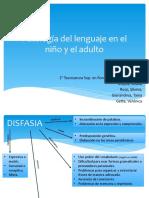 Patología del lenguaje en el niño y el