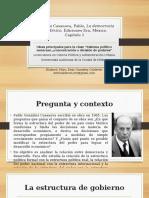 Resumen La Democracia en México - Casanova