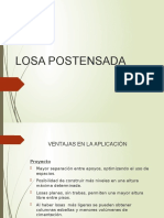 LOSA POSTENSADA
