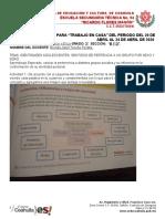 EDUCACIÓN EN CASA. FCYE 3° B y D