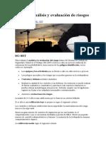 SG-SST Análisis y evaluación de riesgos