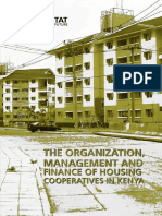 The Organisation, Management and Finance of Housing Cooperatives in Kenya