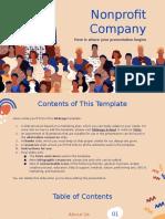 Non Profit Company Marketing Plan by Slidesgo