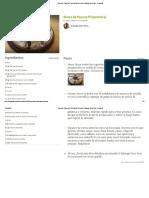 Rosca de Pascua Fit (proteica) Receta de Solange Vera Vera