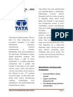 Project report of tata.