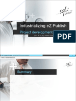 Industrializing eZ Publish Project Development