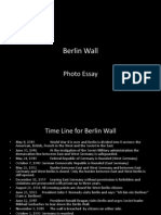 Berlin Wall Photo Essay