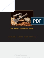 2010 Jerusalem stone Product & Project Catalog