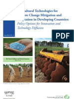 Agricultural Technologies for Climate Change Mitigation and Adaptation in Developing countries