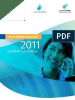 Israeli Mobile Solutions Catalog 2011