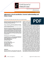Adjuvants to Local Anesthetics Current Understanding and Future Trends