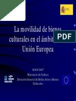 Movilidad de Colecciones en la UE