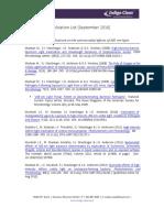 HINS-light publications (-July 2012)