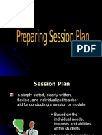1. Prepare SESSON PLAN