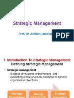 Strategic Management for Short Seminar