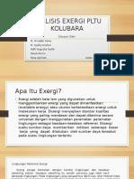 ANALISIS EXERGI PLTU KOLUBARA.pptx