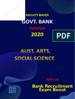 Faculty Based Bank Job Solution