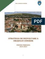 Strategia de Dezvoltare a Orasului Cisnadie 2015-2023
