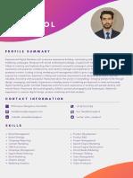 Resume - Faisal Maqbool (1)
