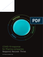 COVID-19 Response for Pharma Companies