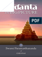 Vedanta the Big Picture - Swami Paramarthananda