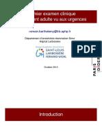 1-38, 10-Premier examen clinique d'un patient adulte vu aux urgences.pdf
