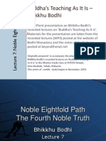 Noble Eightfold Path