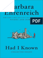 Had I Known_ Collected Essays by Barbara Ehrenreich