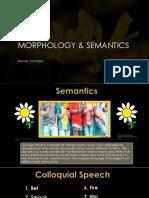 power point morphology semantics