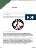 ¿Marxismo Cultural… o Liberalismo Cultural?