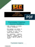 3S - PROPRIEDADES COLIGATIVAS