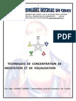 Technique de Meditation Et de Visualisation