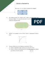 Cálculo  e Geometria