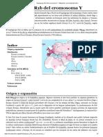 Haplogrupo R1b del cromosoma Y - Wikipedia, la enciclopedia libre