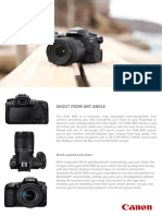 EOS 90D Tech Sheet