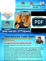 Lions Club International District 325 A 1 Nepal September Newsletter Converted