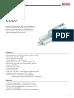 Data Sheet LD20