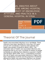 THE JOURNAL ANALYSIS ABOUT HAND HYGIENE AMONG HOSPITAL.pptx